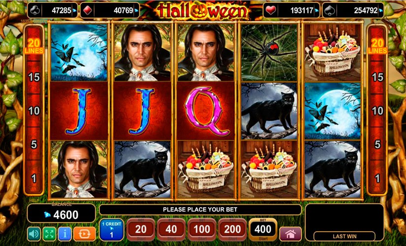 Halloween Slot Machine EGT