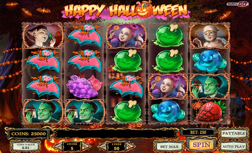 Happy Halloween Slot Machine Review