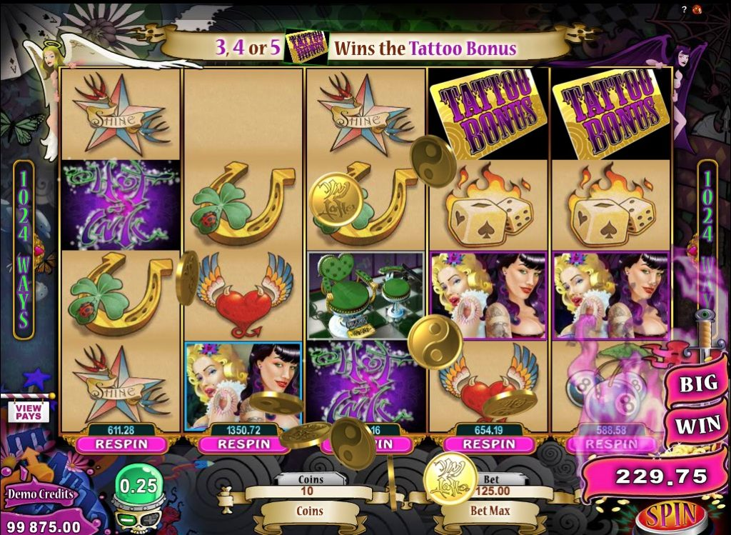 Hot Ink Slot Game Online