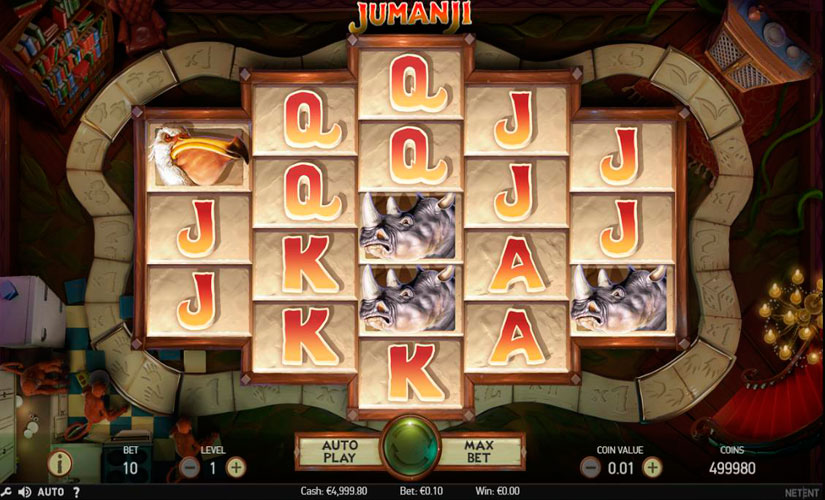 Jumanji Slot Machine Review