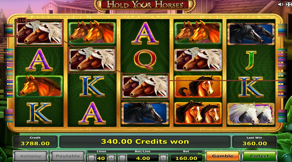 Hold your Horses Slot Machine Review