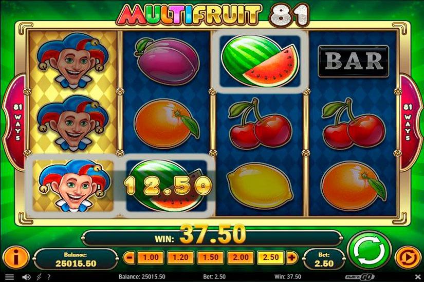MultiFruit 81 Slot Machine Review