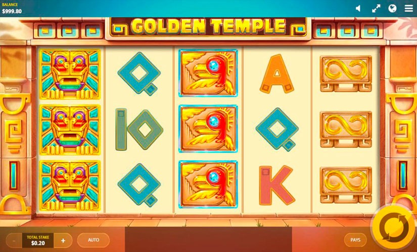 Temple Of Gold Slot Machine Online