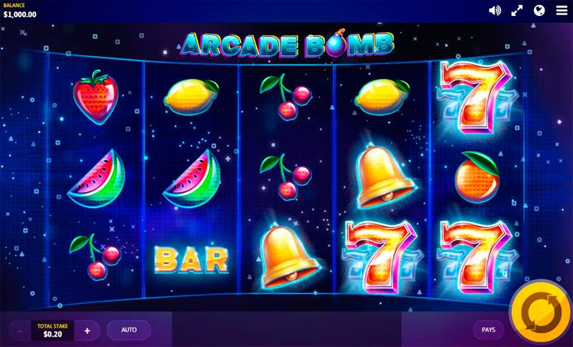 Arcade Bomb Slot Machine Online