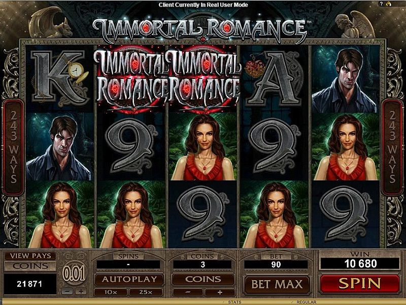 Immortal Romance Slot Game Online