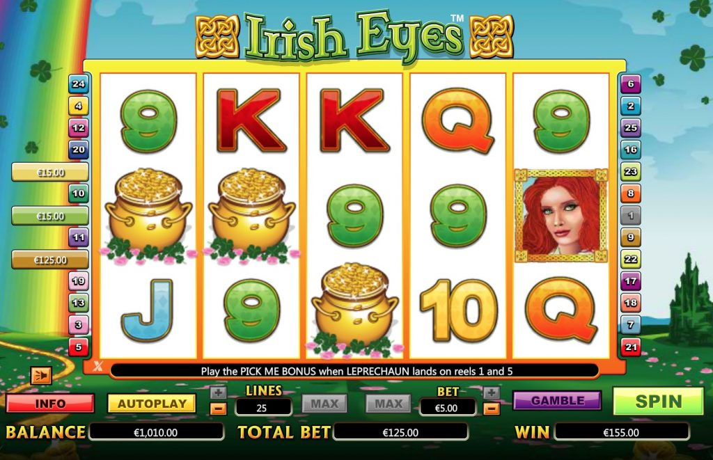 Irish Eyes Slot Machine Online