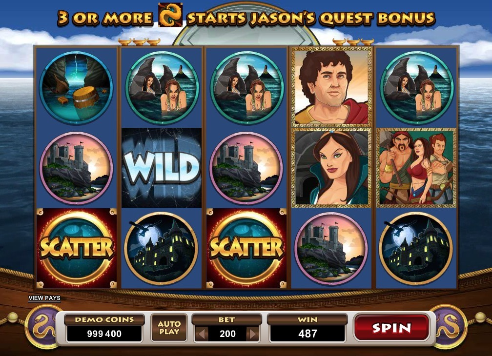 Jason And The Golden Fleece Slot Machine Online