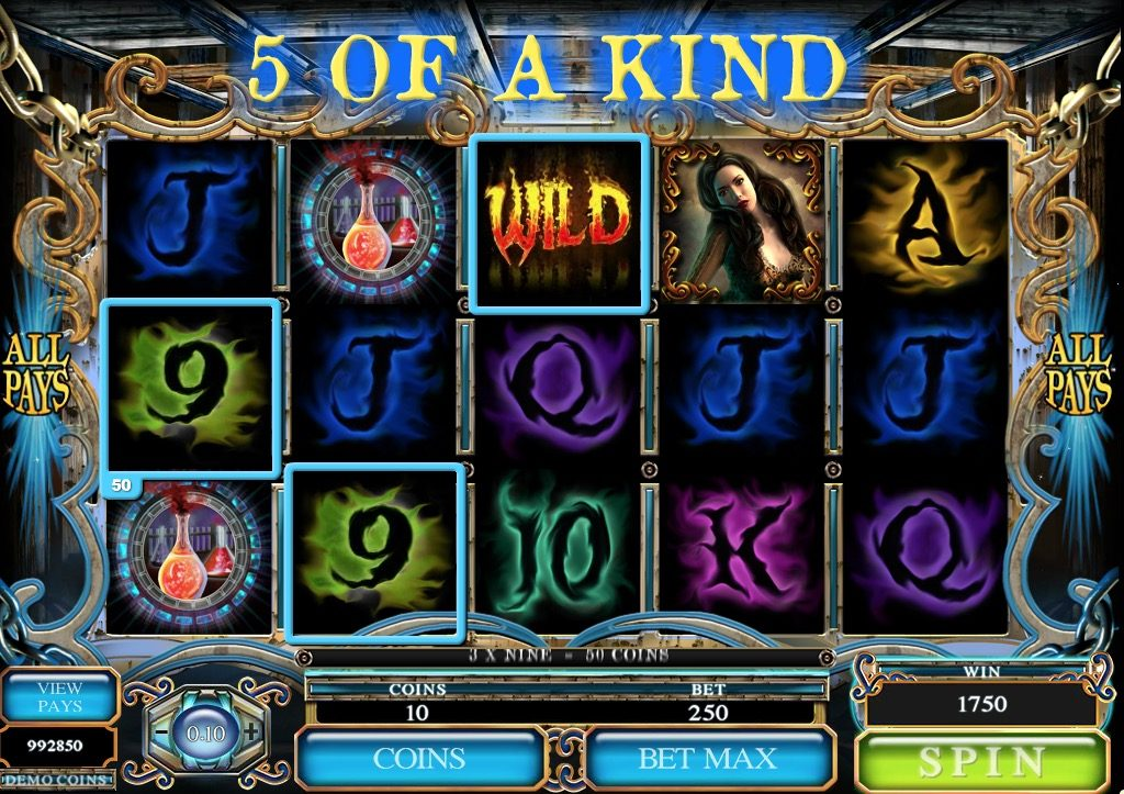 Jekyll and Hyde Slot Game Online