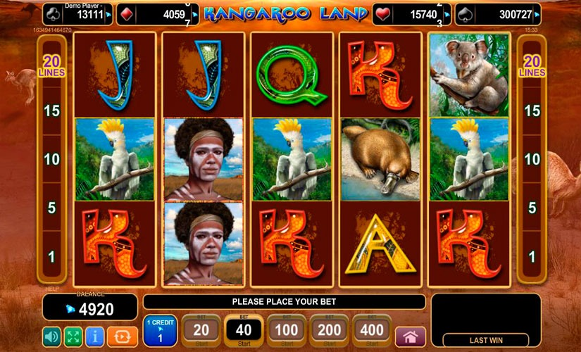 Kangaroo Land Slot Machine Review
