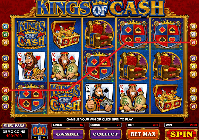 Kings of Cash Slot Game Online