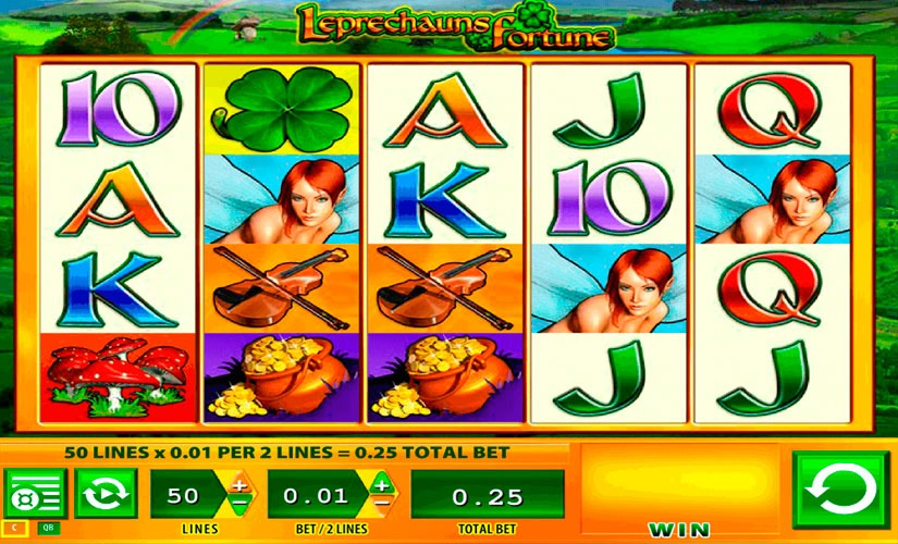 Leprechauns Fortune Slot Machine Review