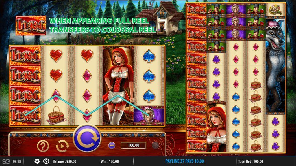 Lil Red Slot Machine Game