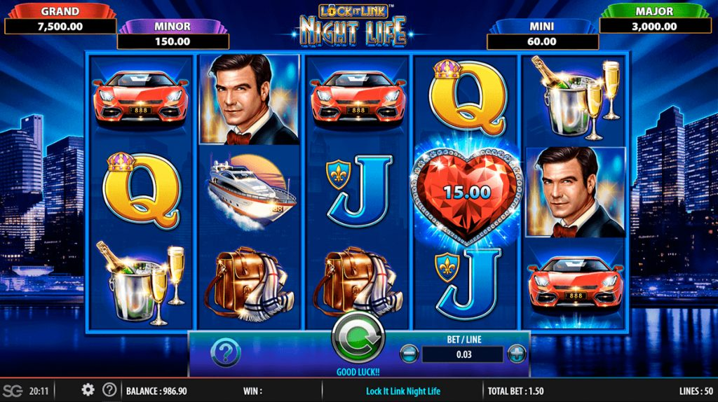 Play For Free Lock It Link Slot
