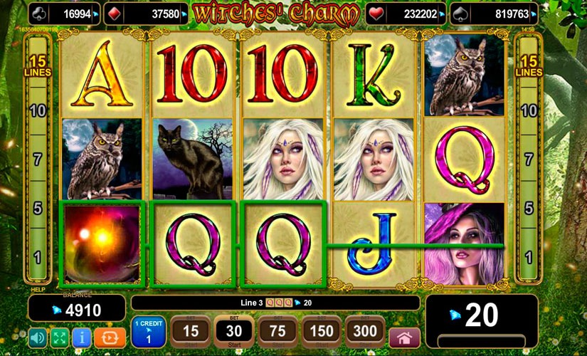 Witches Charm Slot Machine Review
