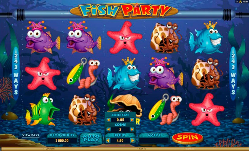 Fish Party Slot Machine Online