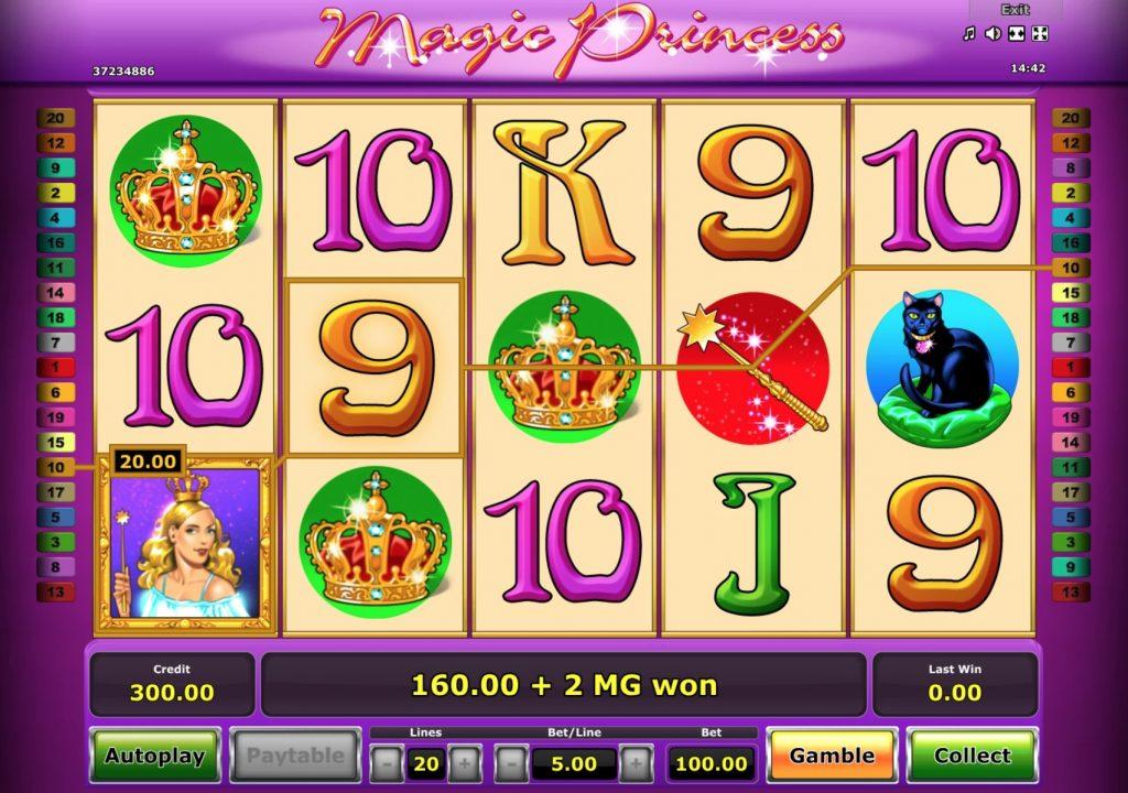 Magic Princess Slot Machine Online