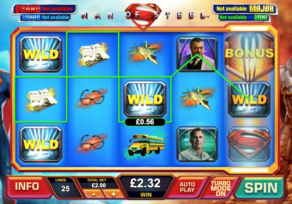 Man of Steel Slot Machine Review
