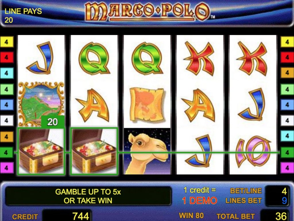 Marco Polo Slot Machine Review