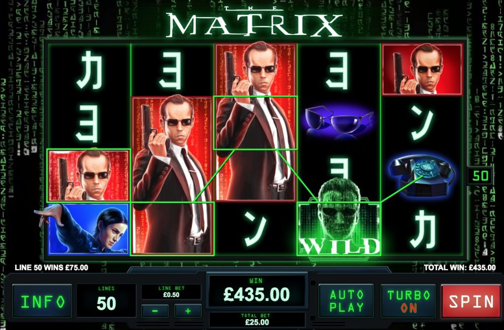 The Matrix Slot Machine Review