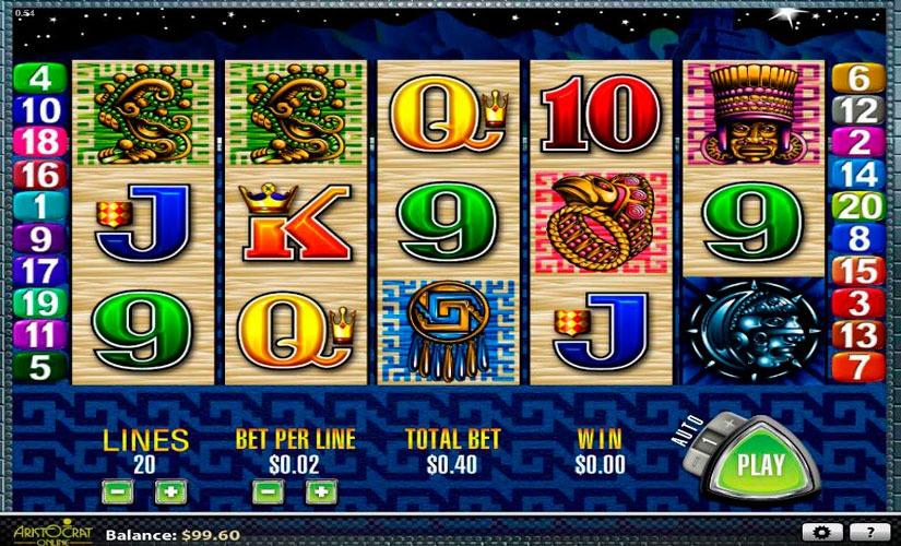 Sun & Moon Slot Machine Online