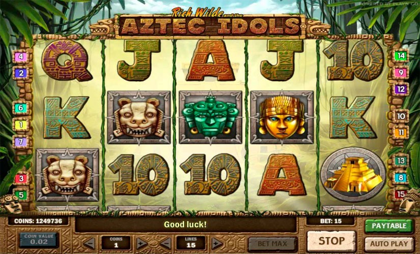 Aztec Idols Slot Machine Review