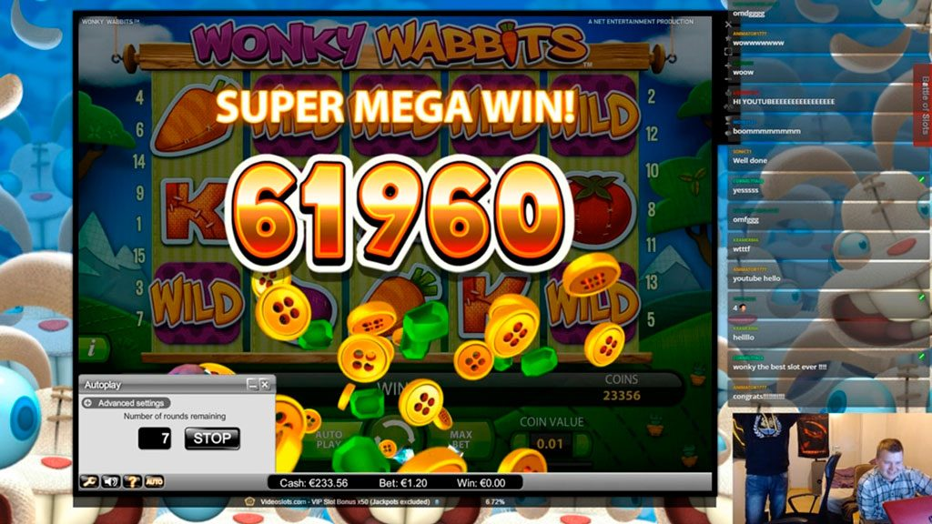 Wonky Wabbits Slot Machine Review