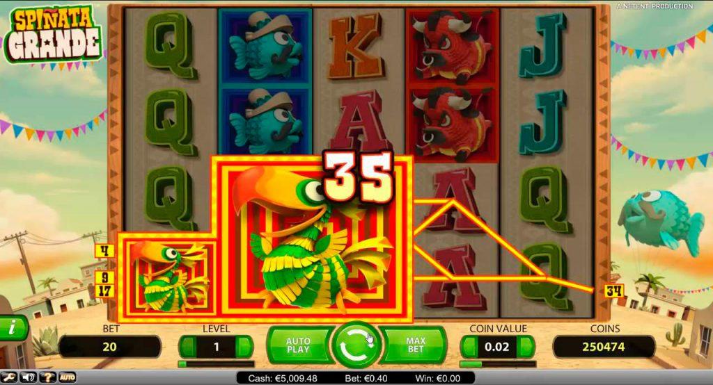 Spiñata Grande Slot Machine Reviews