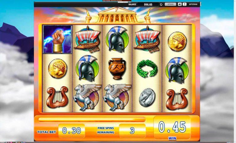 Zeus slot machine free play