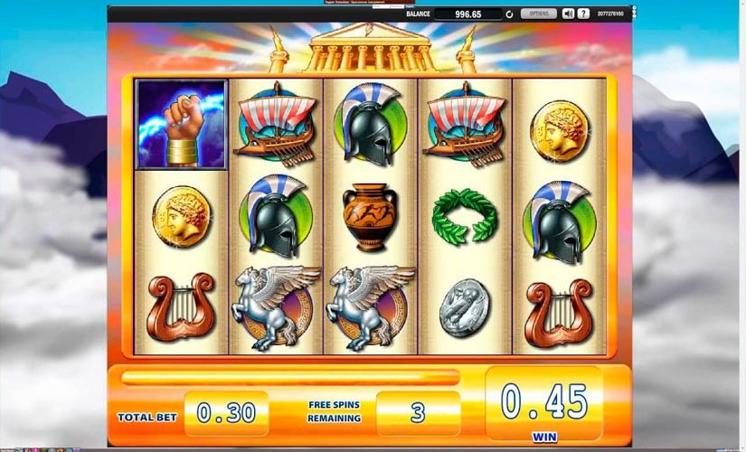 Zeus Slot Machine Review