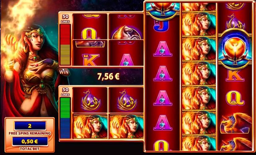Fire Queen Slot Machine Online