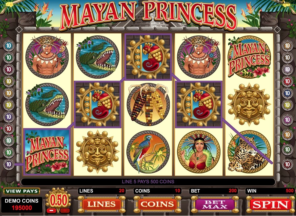 Mayan Princess Slot Game Online