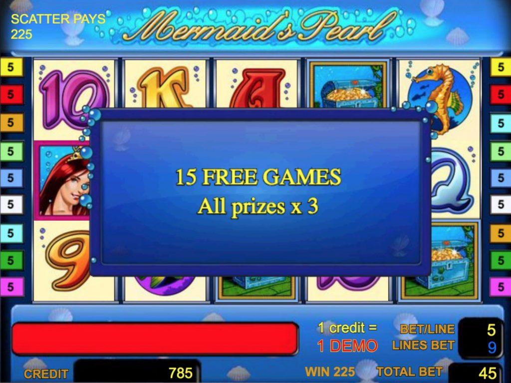 Mermaid's Pearl Slot Machine Review