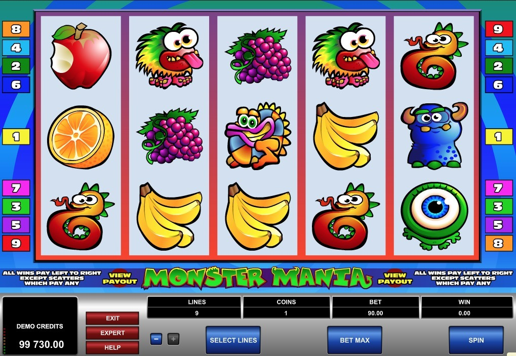 Monster Mania Slot Game Online
