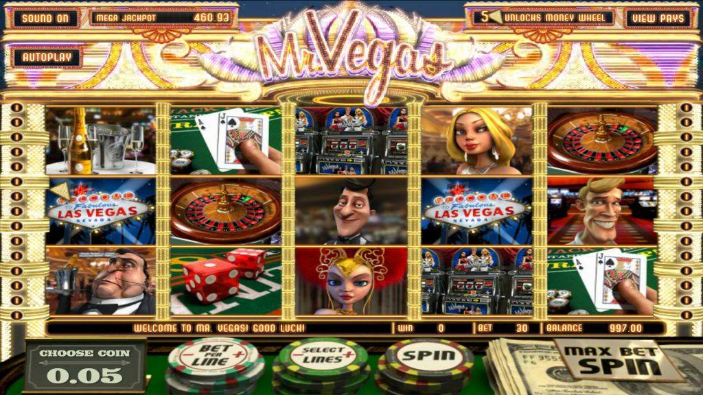 Mr. Vegas Slot Machine