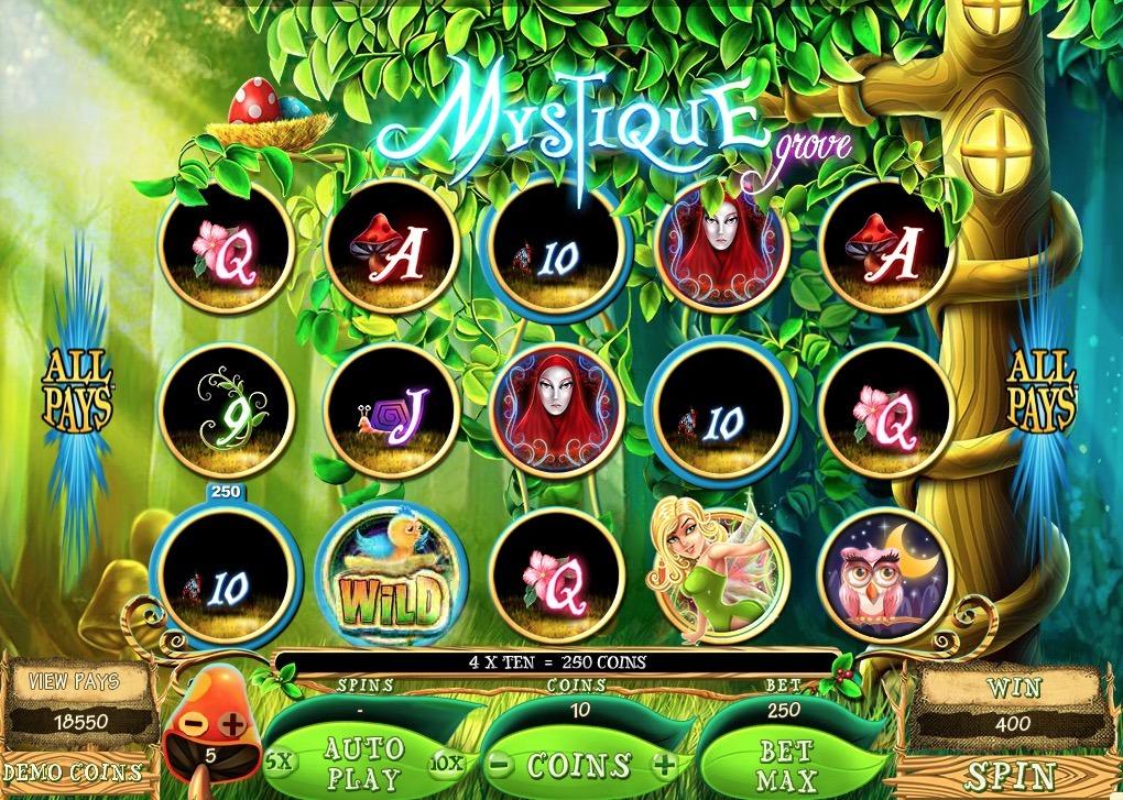 Mystique Grove Slot Machine Online