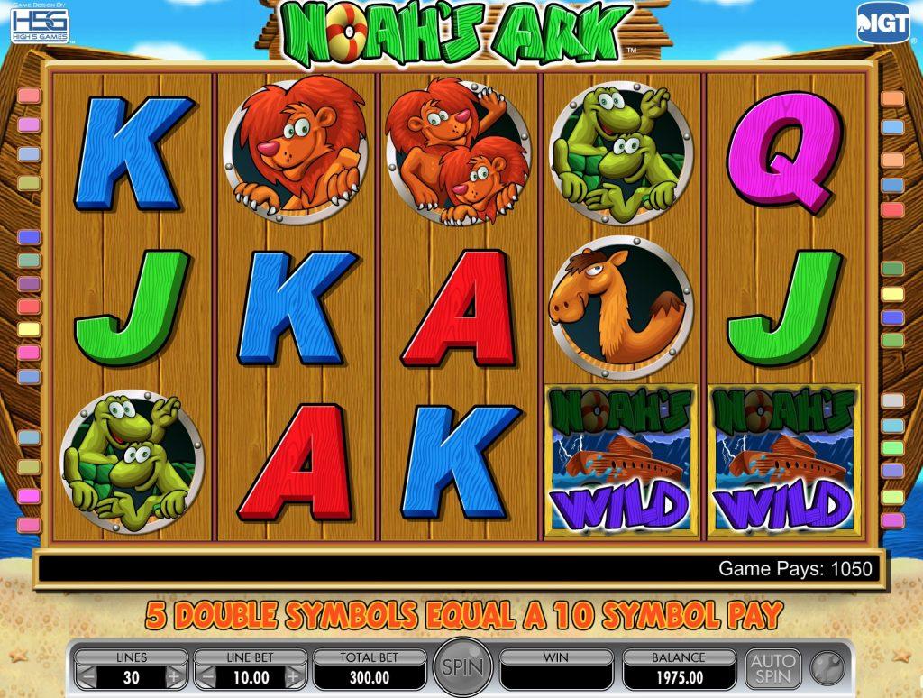 Noah's Ark Slot Machine Review