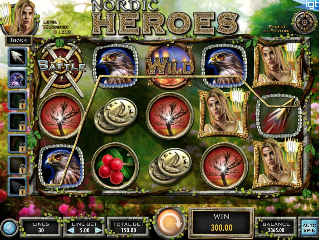 Nordic Heroes Slot Machine Review