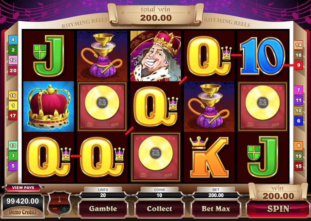 Old King Cole Slot Machine Online