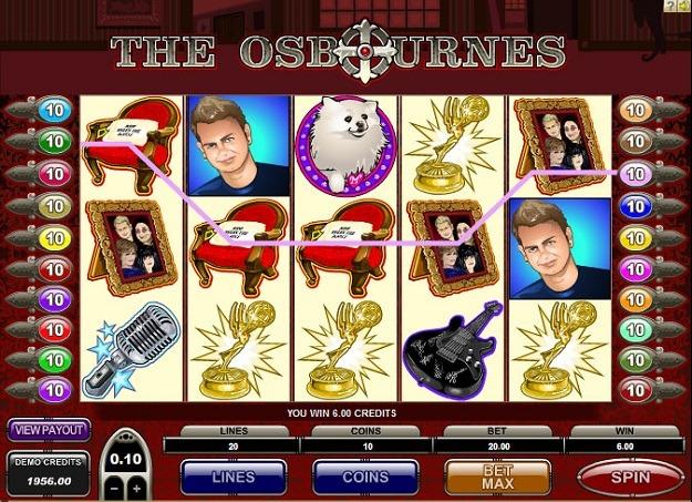 The Osbournes Slot Game Online