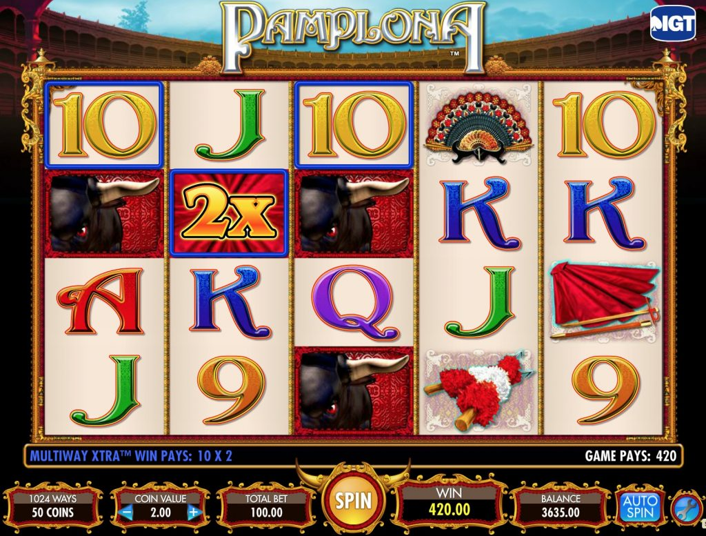 Pamplona Slot Machine Review