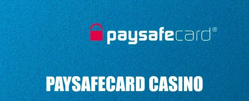 Casinos With Paysafecard Minimum Deposit