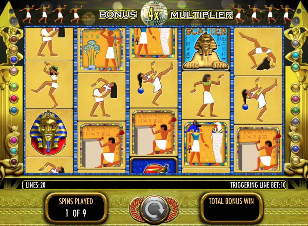 Pharaohs Fortune Slot Machine Review