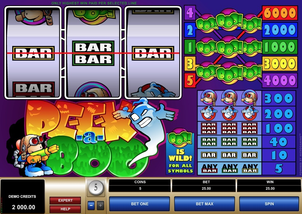Peek A Boo Slot Machine Review