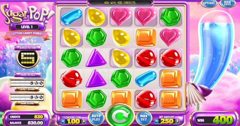 Sugar Pop Slot Machine Review