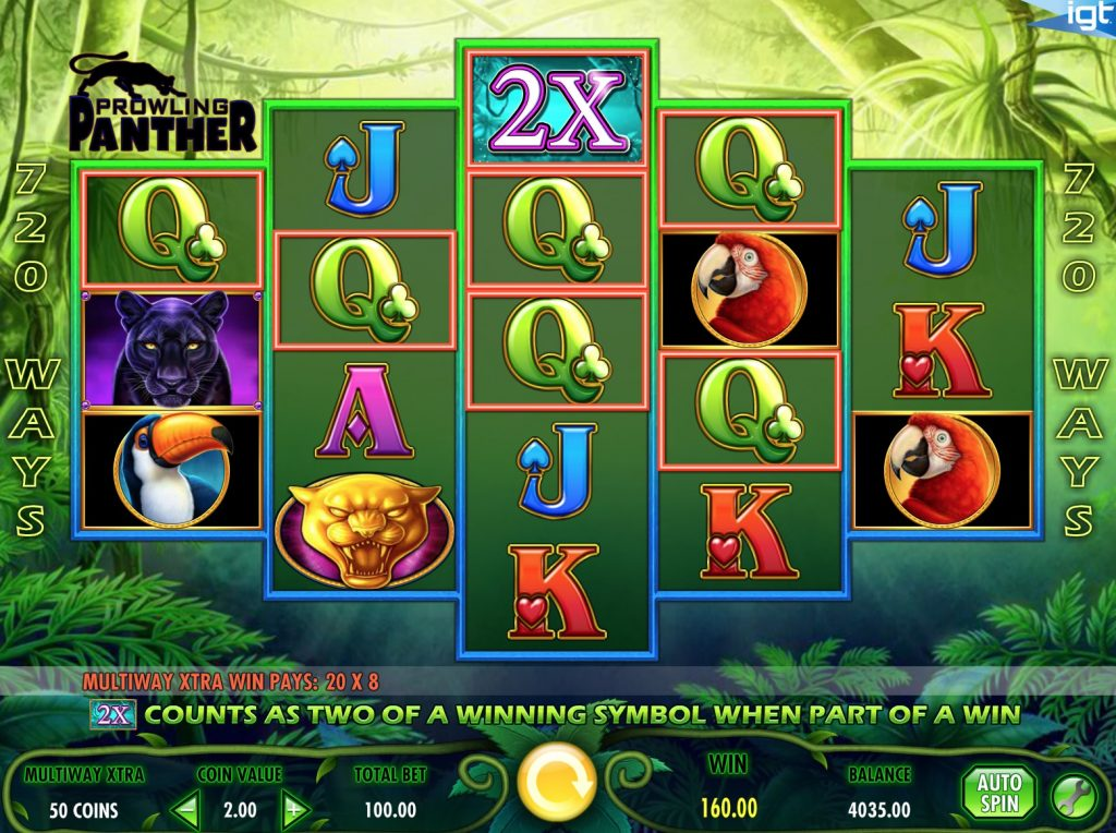 Prowling Panther Slot Machine Review