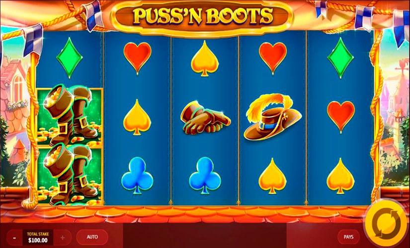 Puss'N Boots Slot Machine Online