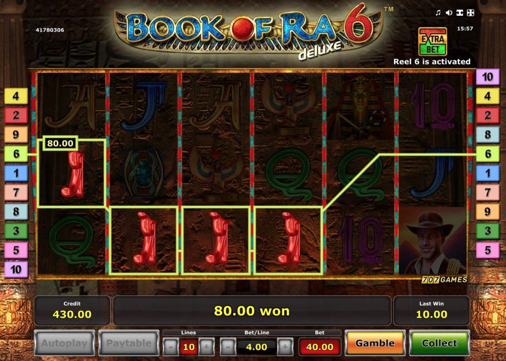 Book Of Ra 6 Slot Machine Online
