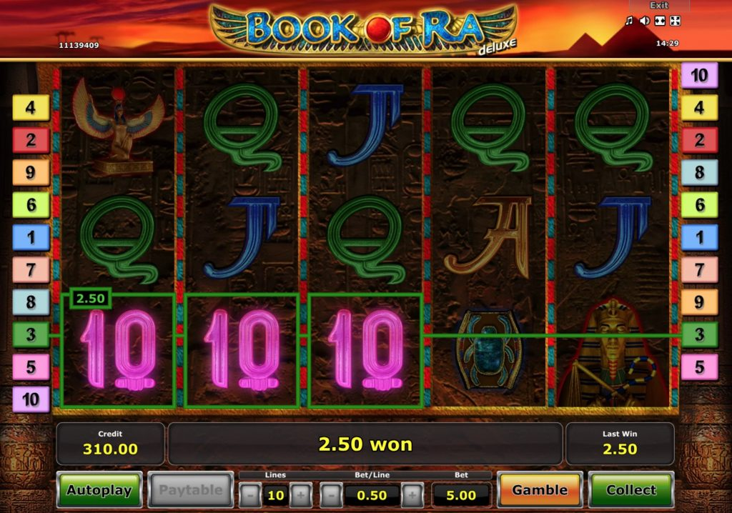 Book of Ra Deluxe Slot Machine Review