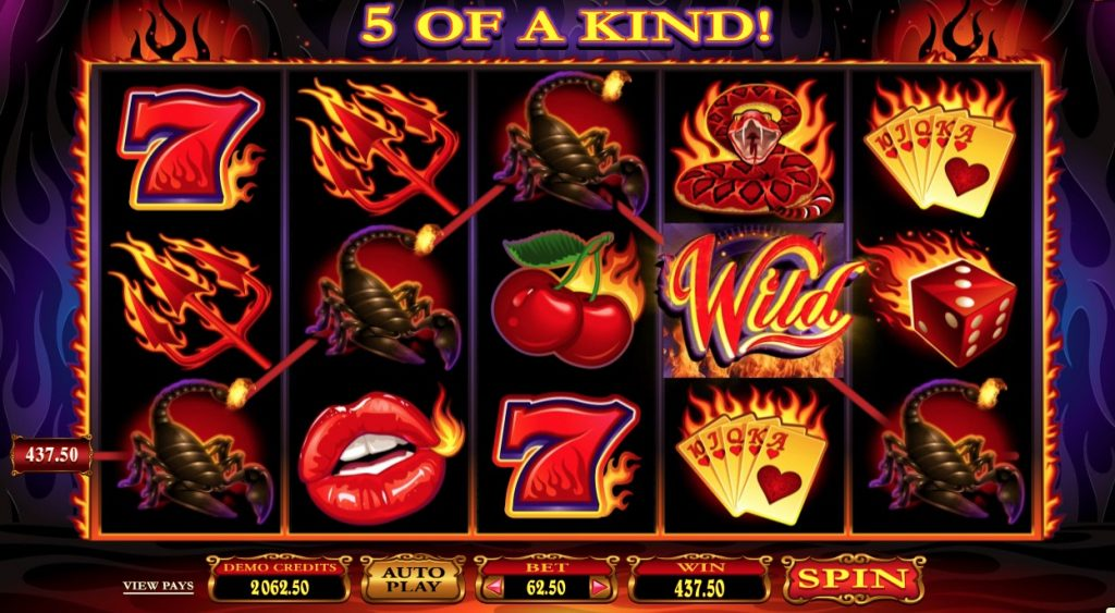 Red Hot Devil Slot Machine Review