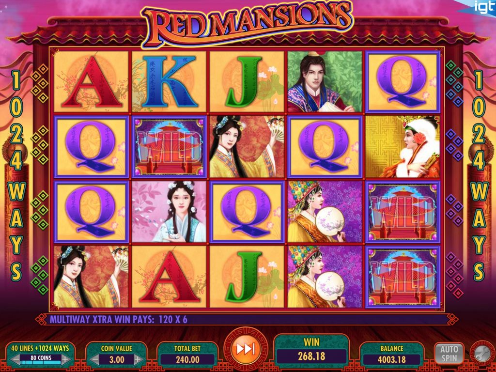 Red Mansions Slot Machine Review